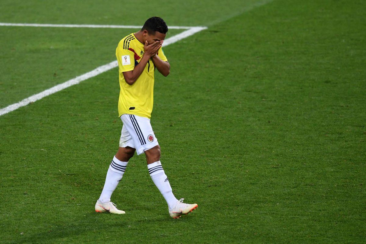 #WorldCup - Les joueurs colombiens menacés de mort 🇨🇴☠ #COLENG #COL 👉 https://t.co/BoM514XHRG