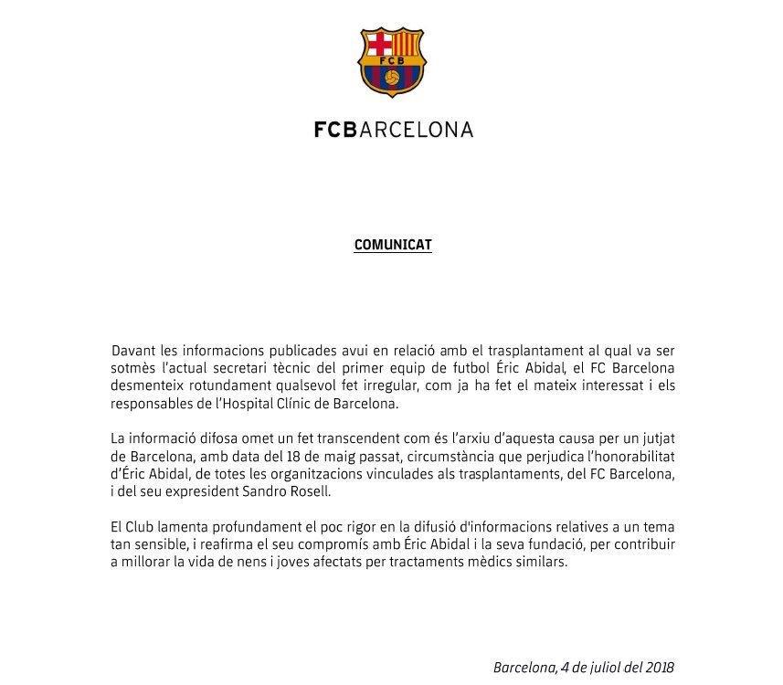 Culé Source on Twitter: