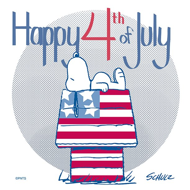 Image result for happy fourth of july peanuts