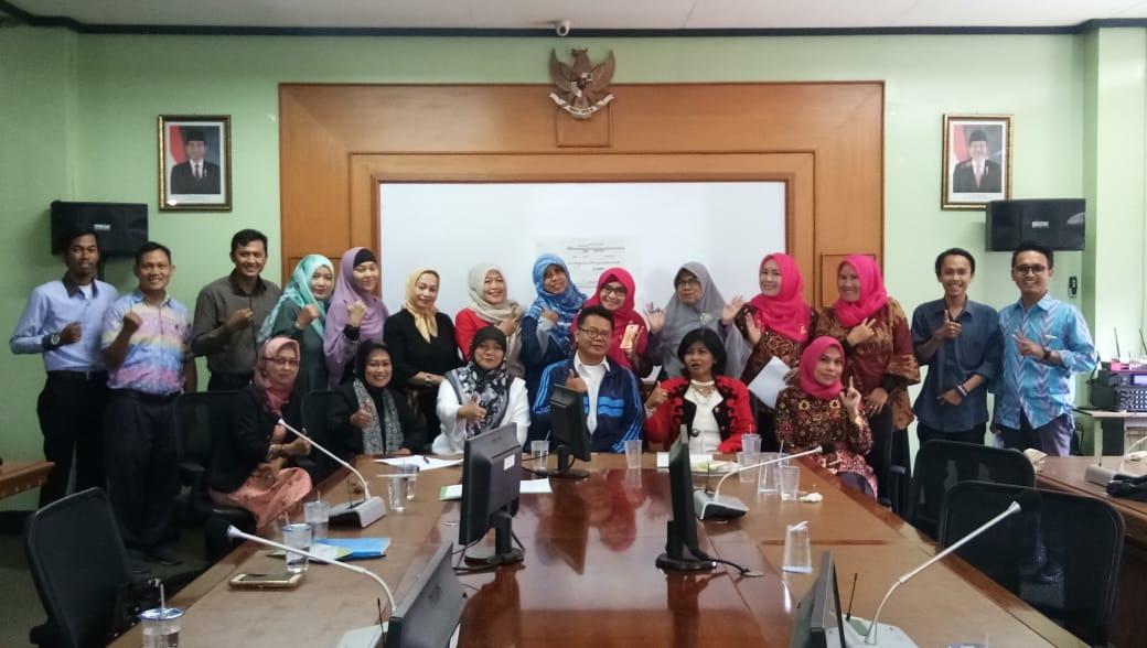 Rapat Tim sinergitas ABCGM untuk mendorong UMKM Jabar naik kelas pada Rabu (4/7)