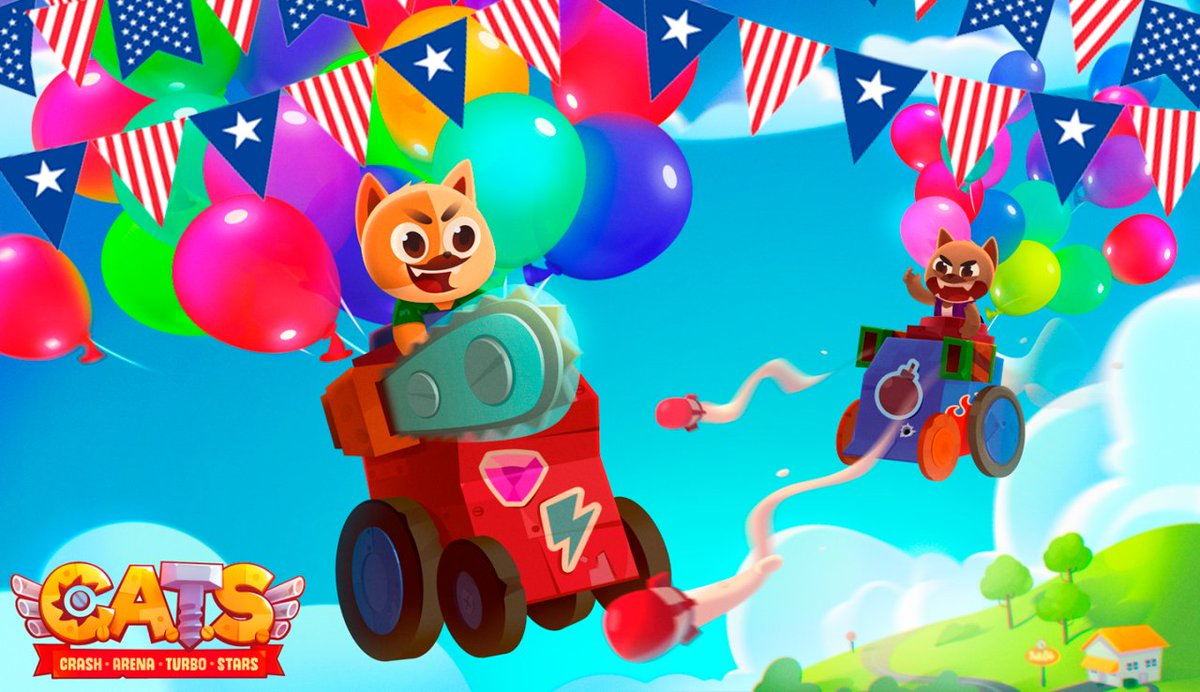 CATS The Game Auf Twitter Happy Birthday America 4th Of July Xoxo IndependenceDay July4th USA HappyBirthday CatsTheGame