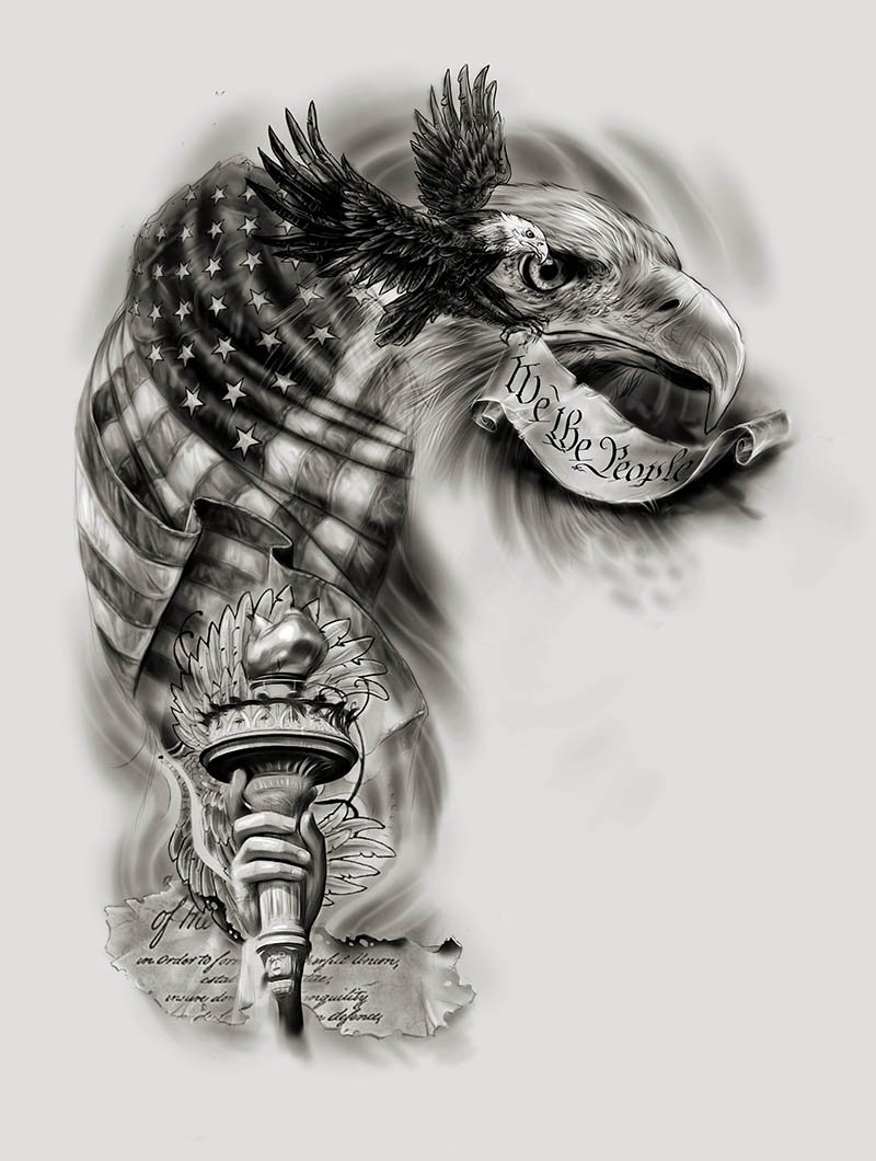 Custom Tattoo Design On Twitter Happy 4th Of July Share Your