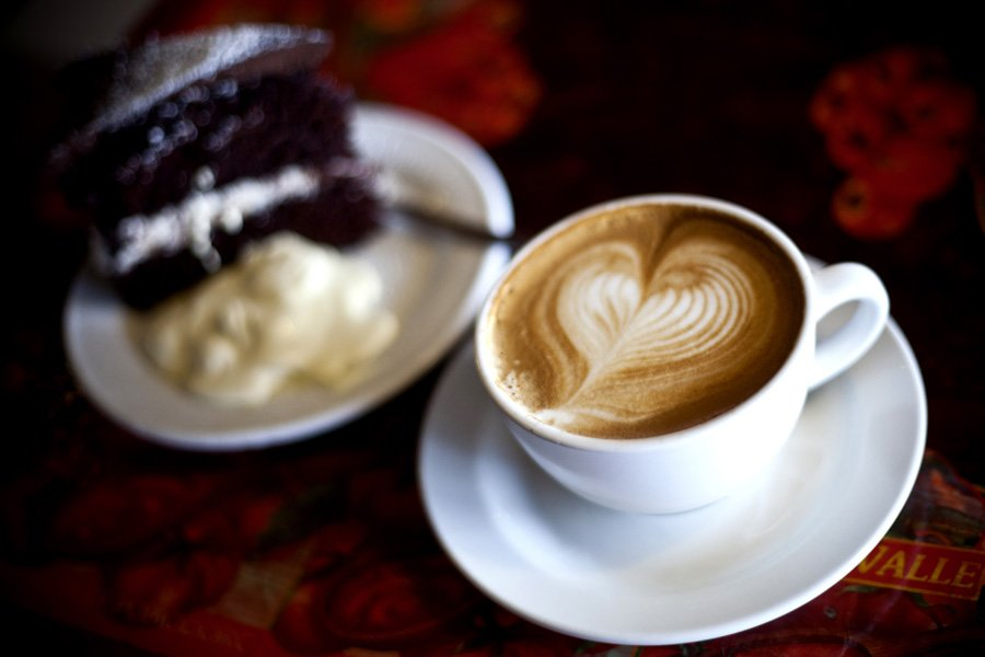 Her revival came in the form of good coffee and chocolate...