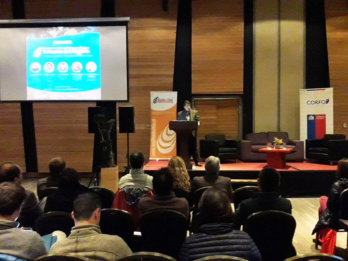 El programa @MejillondeChile junto a @Corfo Los Lagos realizan el seminario Tendencias en Nuevos Productos y Procesos de la #IndustriaDelMejillón en Castro, #Chiloé https://t.co/faFWsmRMLO