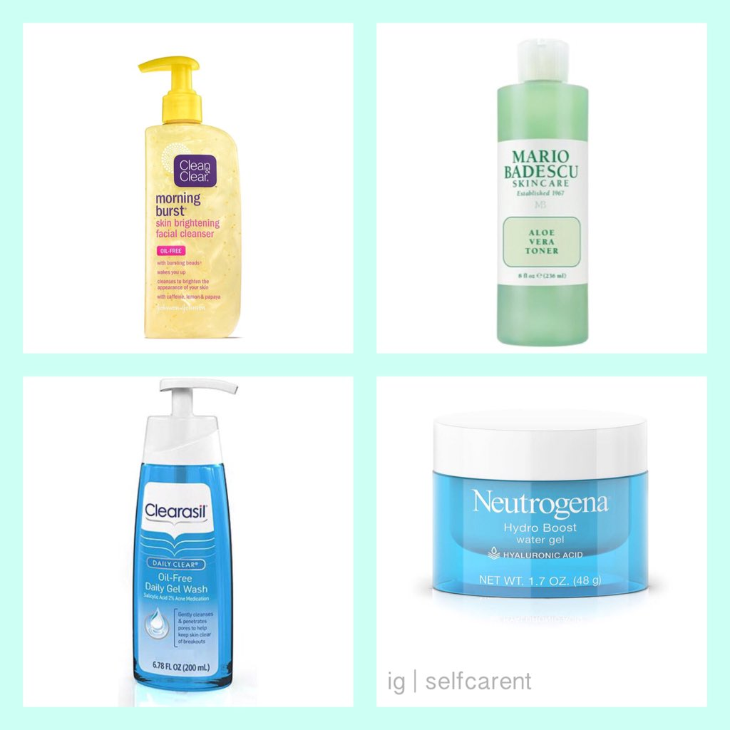 Ig Selfcarent On Twitter Acne Prone Skin 1 Clean And