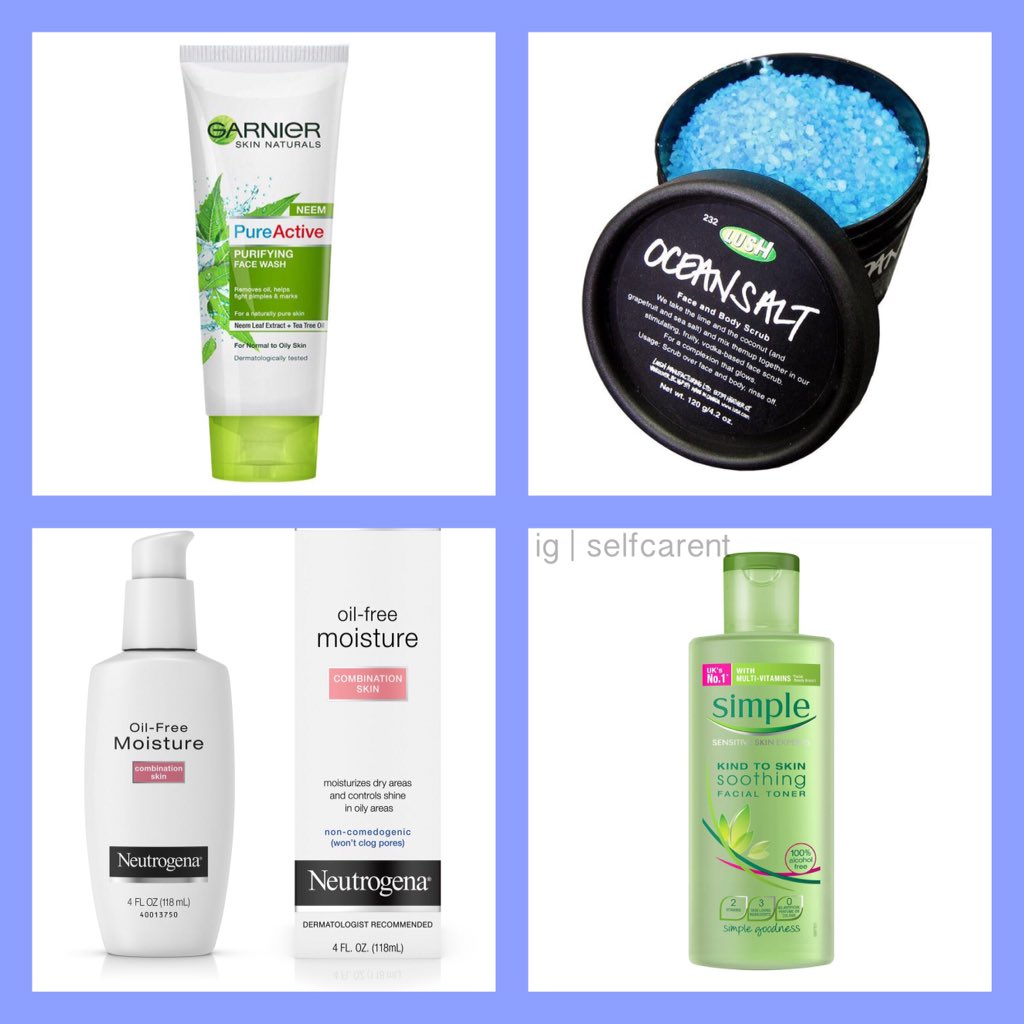 Ig Selfcarent No Twitter Acne Prone Skin 1 Clean And