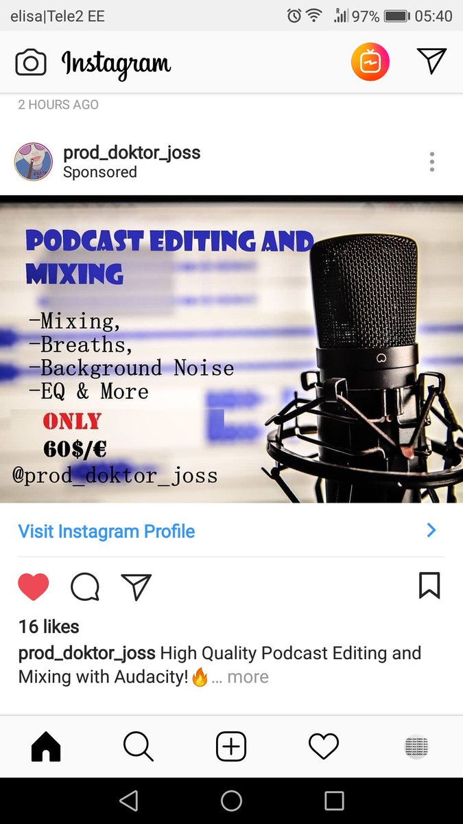 podcastmixing hashtag on Twitter