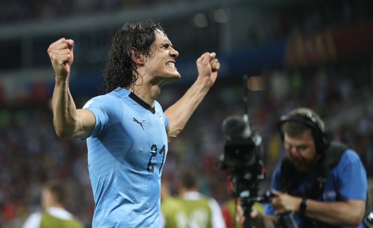 The Field On Twitter Edinson Cavani Did Not Tear Calf Muscle During Last 16 Win Over Portugal Uruguay Confirm Worldcup Https T Co Iorsumiqu8 Https T Co Zbthl0icdf