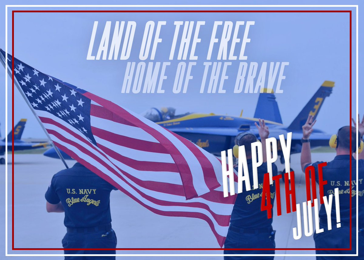 Happy 4th of July #BAFans! #USNavy #USMC #Since1776
