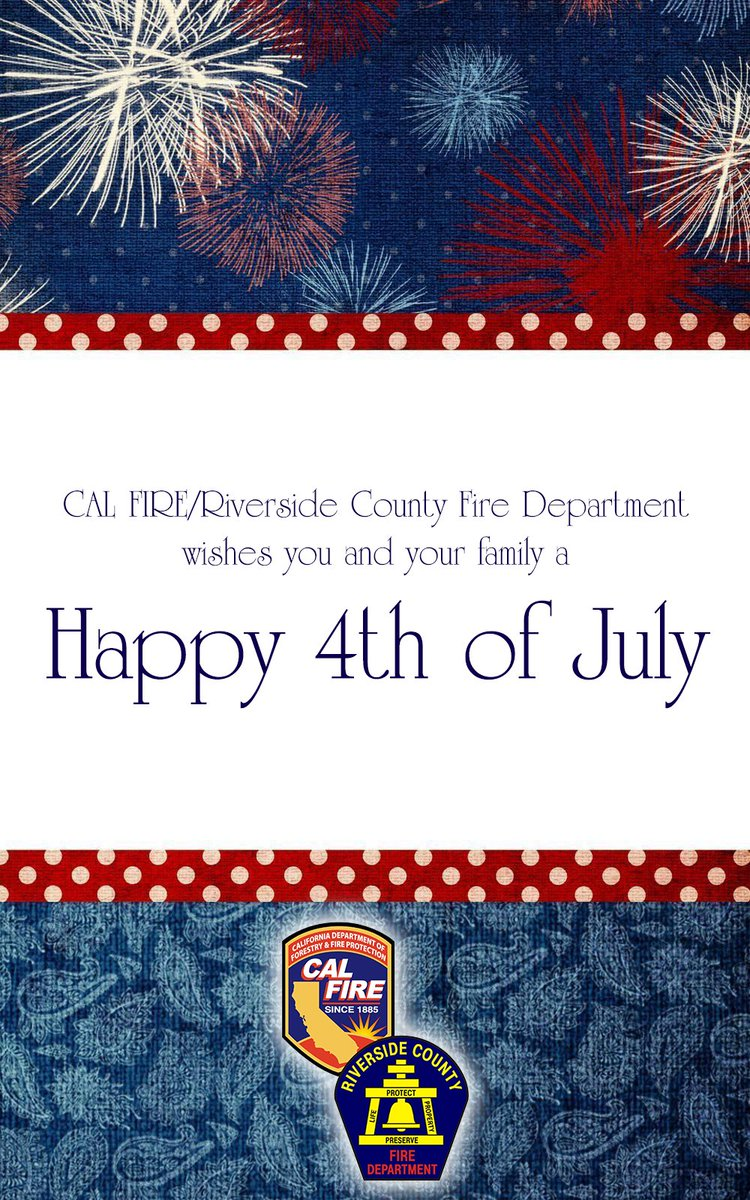 Cal Fire Riverside On Twitter One Flag One Land One Heart One
