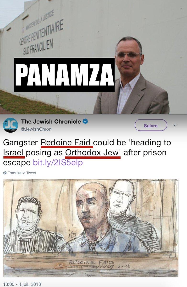 Évasion du sioniste Redoine Faïd : l'étrange silence politico-médiatique à propos du directeur de la prison