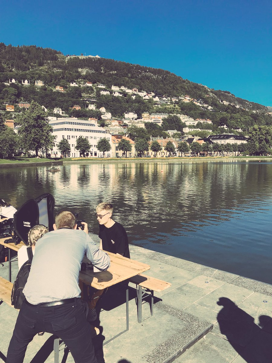 Interviews in lovely #bergen and at the amazing @VGlistaTopp20 https://t.co/PXXSm3XC5F