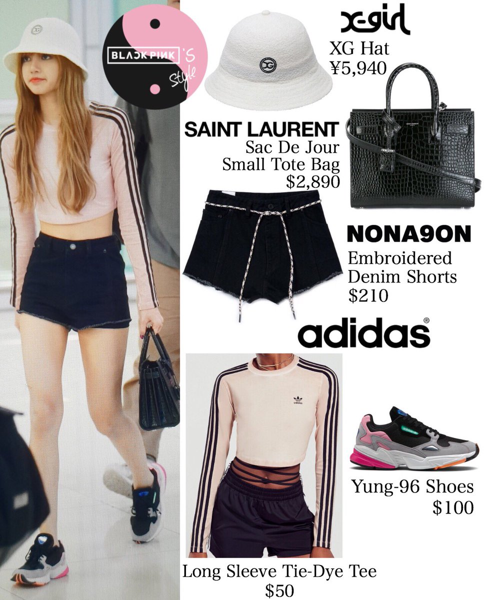 Blackpink S Style On Twitter 180704 Gmp Lisa Blackpink 리사