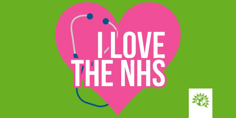 The NHS turns 70 today!  RT if you love our NHS 💚 #NHS70