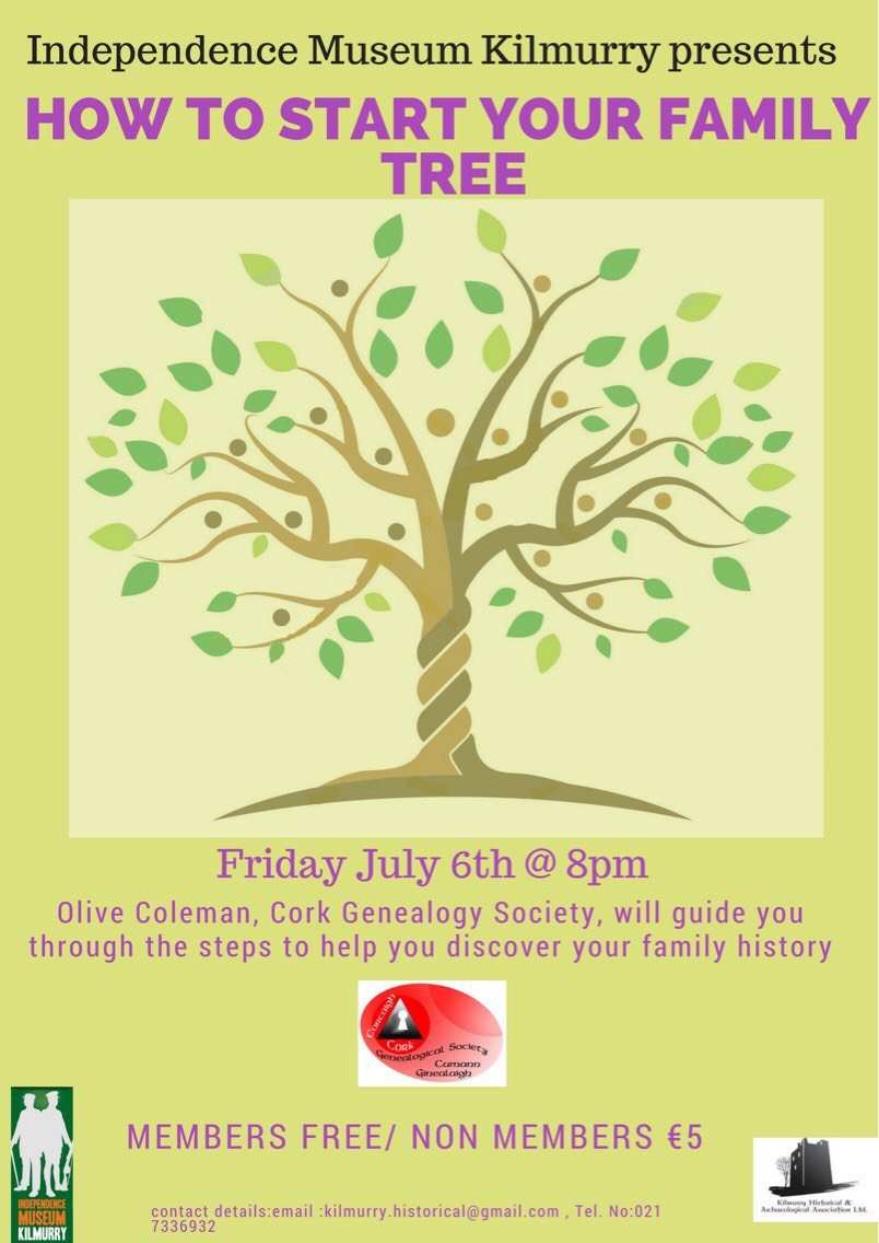 kilmurry historical on twitter why not create your own family tree
