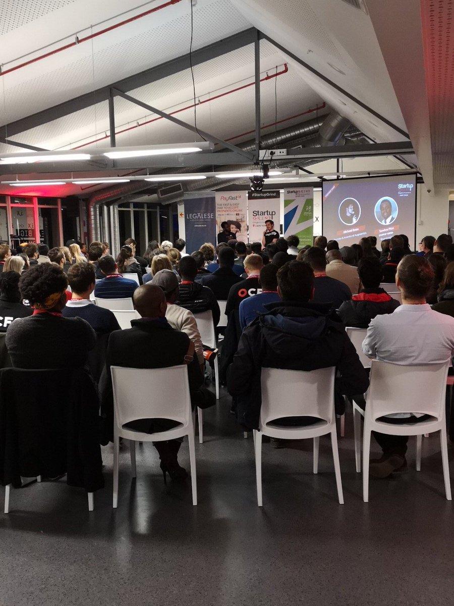 Michael Deon from Augmentors tonight #startCPT @StartupGrindCPT