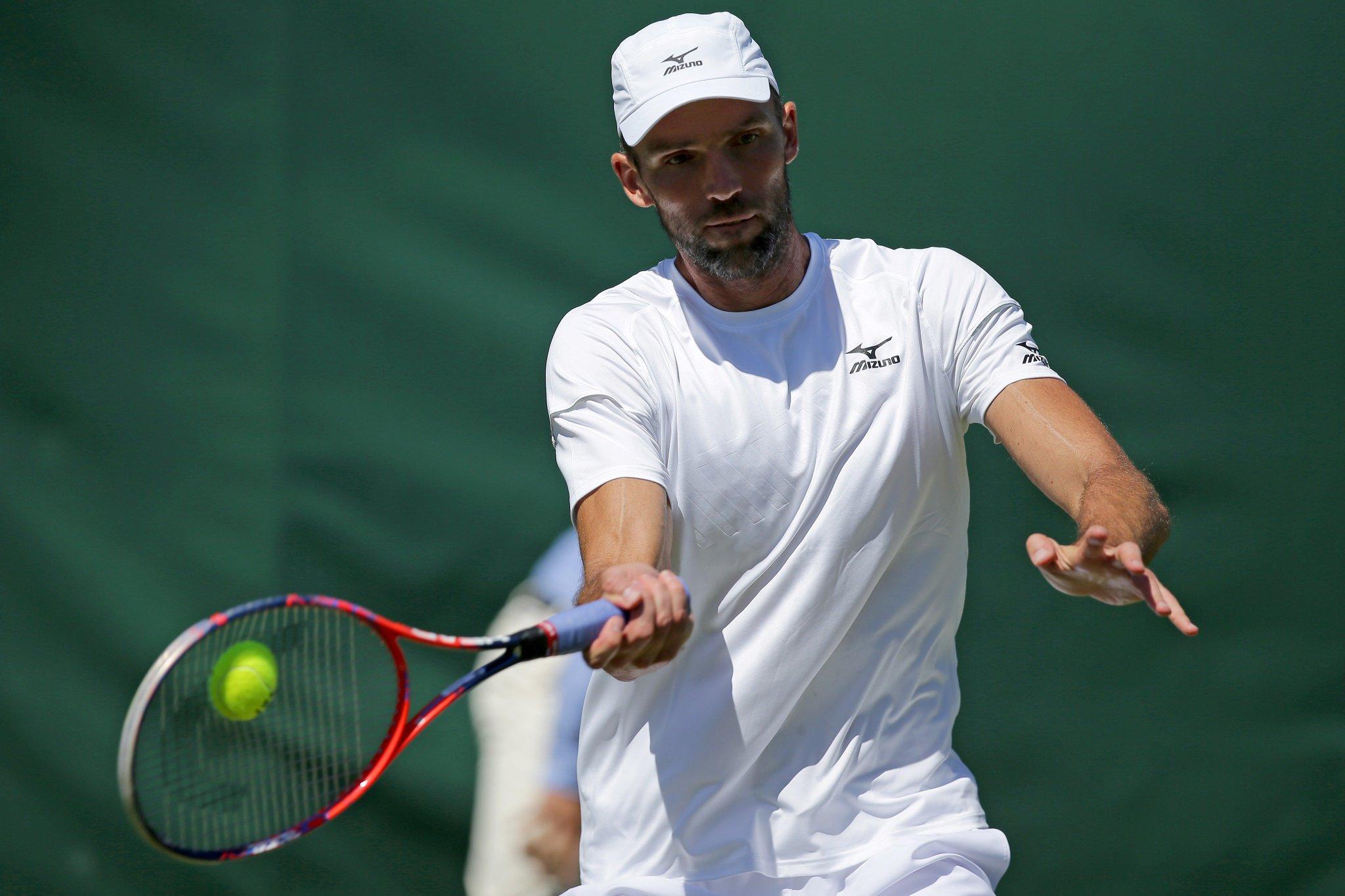 Ivo Karlovic's ace count: 5⃣8⃣ (‼️)  Keep 'em comin' ��  #Wimbledon https://t.co/FzPdJ5ORKb