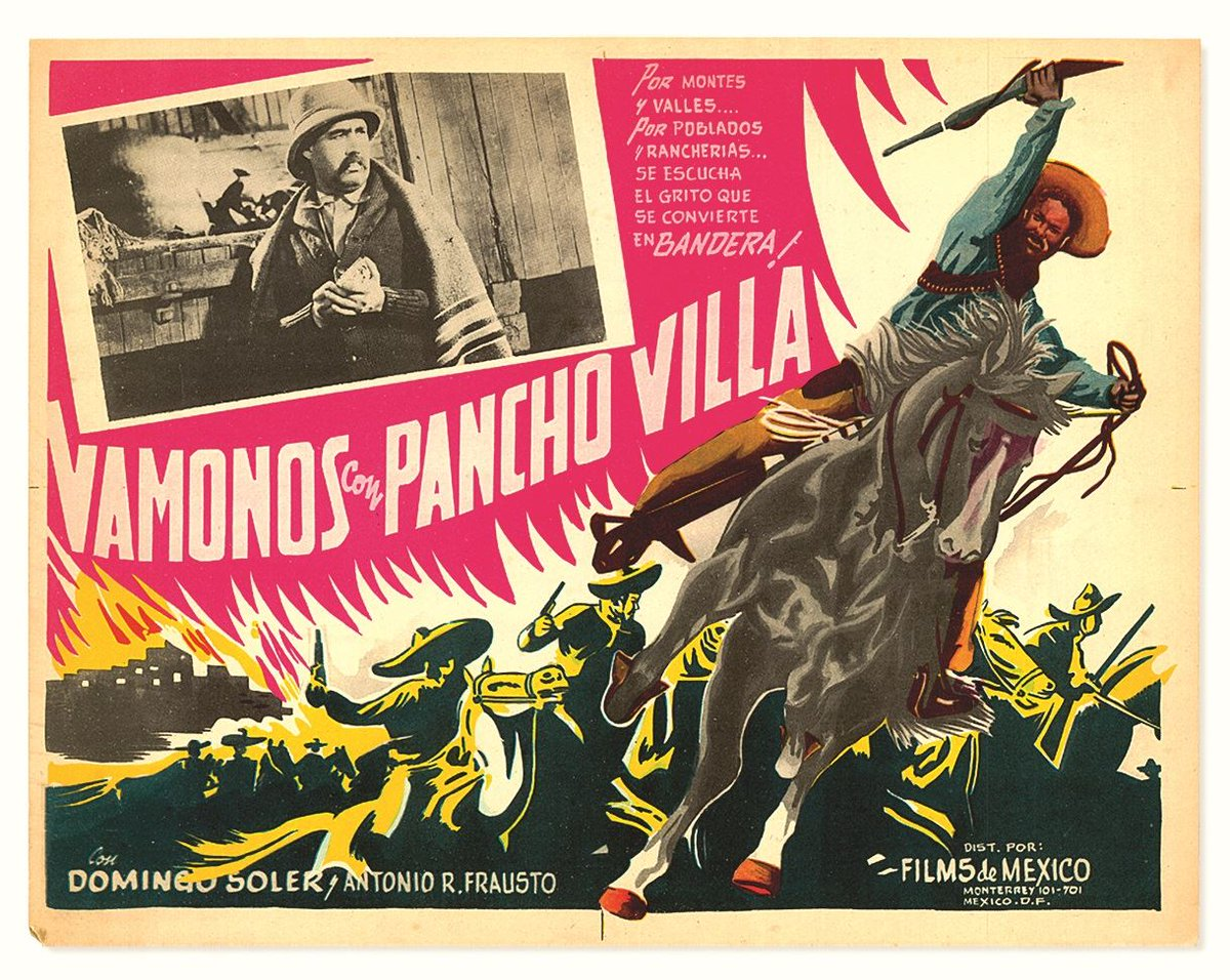 El prisionero 13 (1933), El compadre Mendoza (1934) y ¡Vámonos con Pancho Villa! (1936), trilogía revolucionaria de Fernando de Fuentes, fue restaurada por la @ButacaUNAM; puedes disfrutar los tres títulos en  @filminlatinohttps://t.co/UWjzfjki1a
