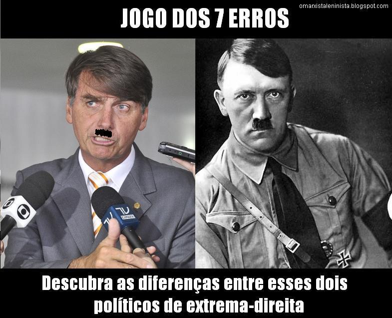 """Verinha Albuquerque Twitter પર: """"Jair Bolsonaro é uma ameaça real q segue  caminho semelhante ao d Adolf Hitler na década d 1930.Mas #DeusÉMaior e O  BR Ñ cairá nas garras desse """"mito"""""""