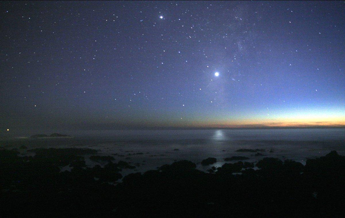De el en cielo los las estrellas nocturno planetas como diferenciar