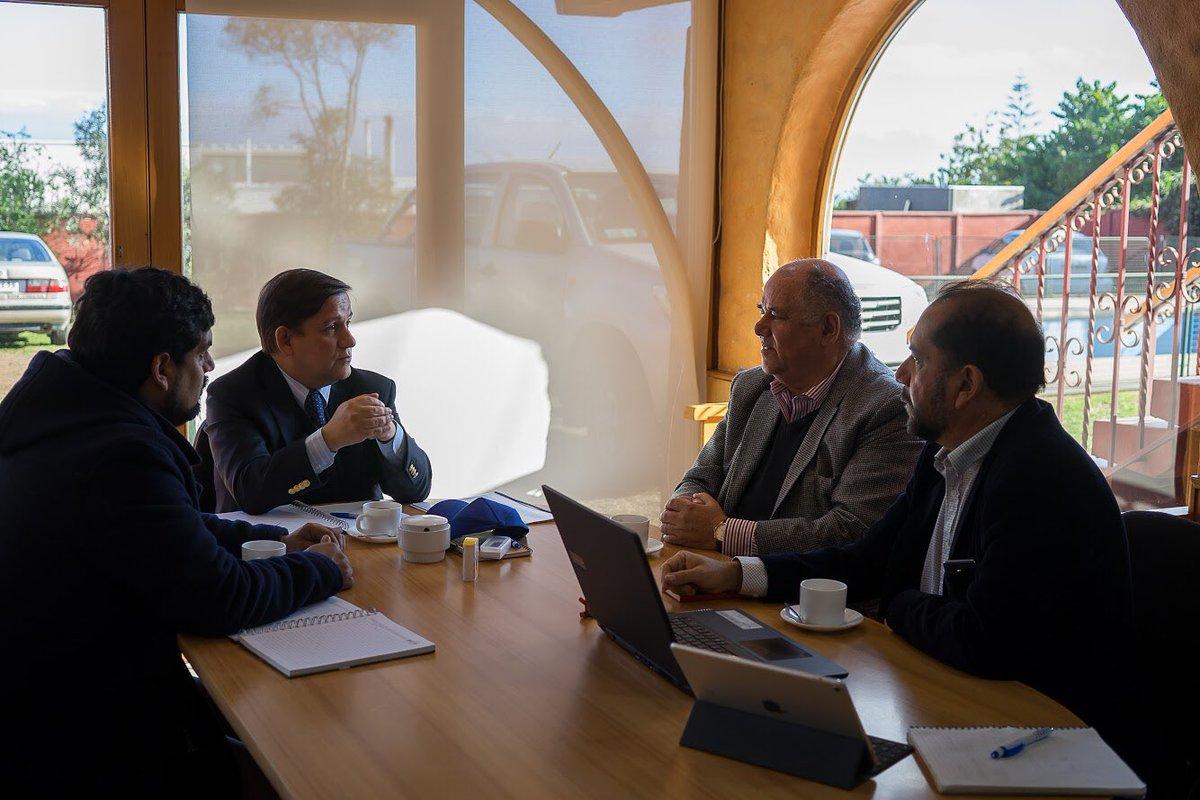 📸 Presidente del PER MásMar, Osciel Velásquez, presentó alcances del programa y trabajo asociativo a Director de CORFO Coquimbo 🐟 en post de objetivos de interés regional https://t.co/s849zaKnJL