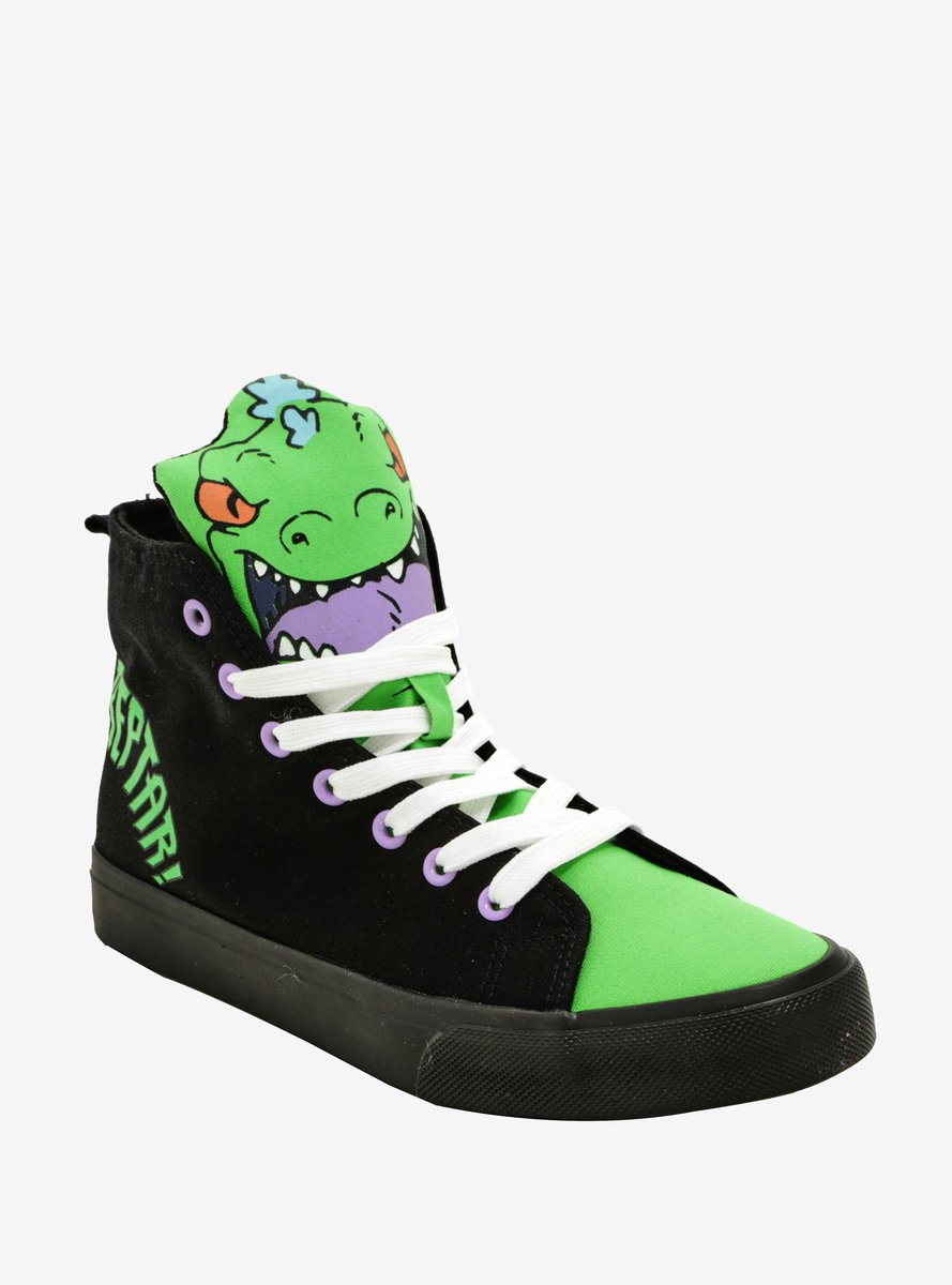 I Need These Awesome Reptar Shoes From HotTopic How Long Is The Wi Dos For Belated Birthday Gifts You Get Yourself Rugrats Tco AeFHvRHl69