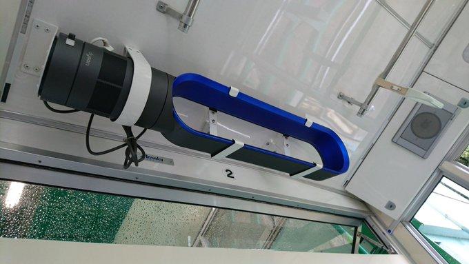 松山城ロープウェイで画期的な空調システムを見つけた