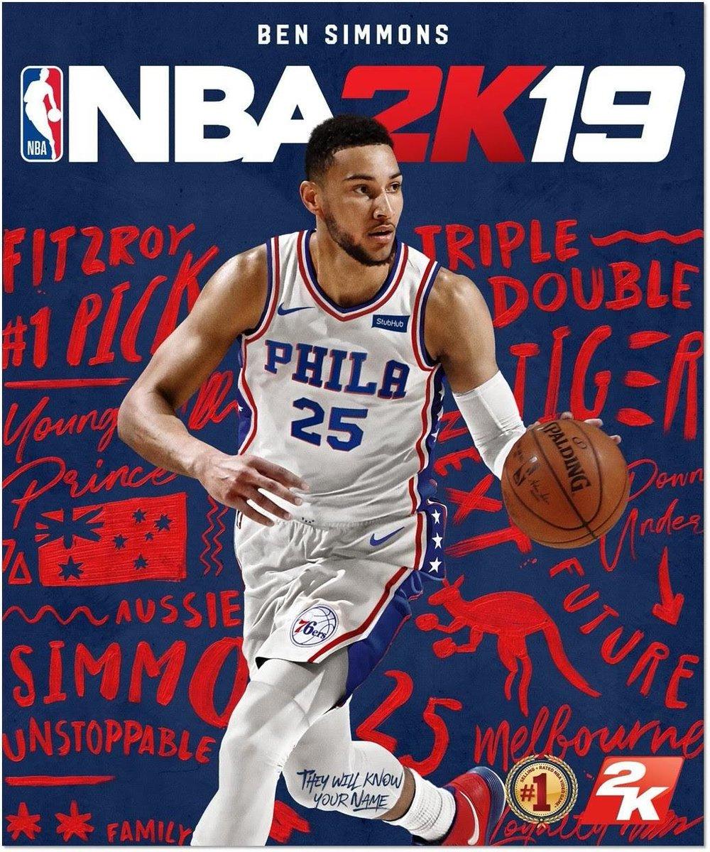 Nba: Ben Simmons Felt He Deserved A Higher Rating On NBA 2K19
