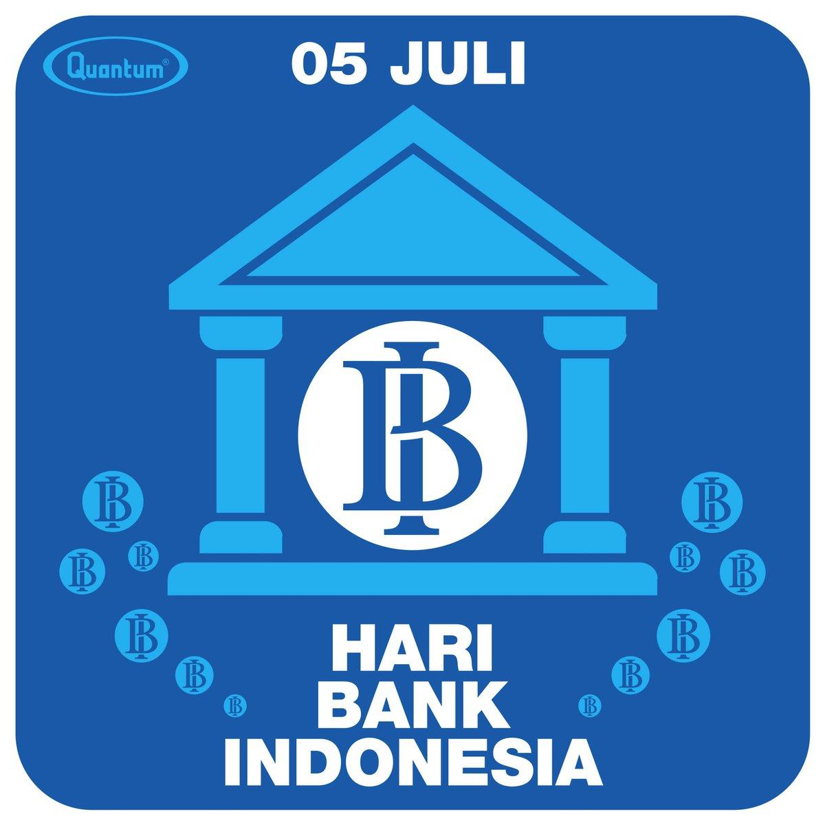 Bank Indonesia bertujuan untuk mencapai & memelihara kestabilan nilai rupiah di Indonesia. Supaya  dapat menetapkan & melaksanakan kebijakan moneter, mengatur & menjaga kelancaran sistem pembayaran, sama mengatur & mengawasi  perbankan di Indonesia. Selamat #haribankindonesia