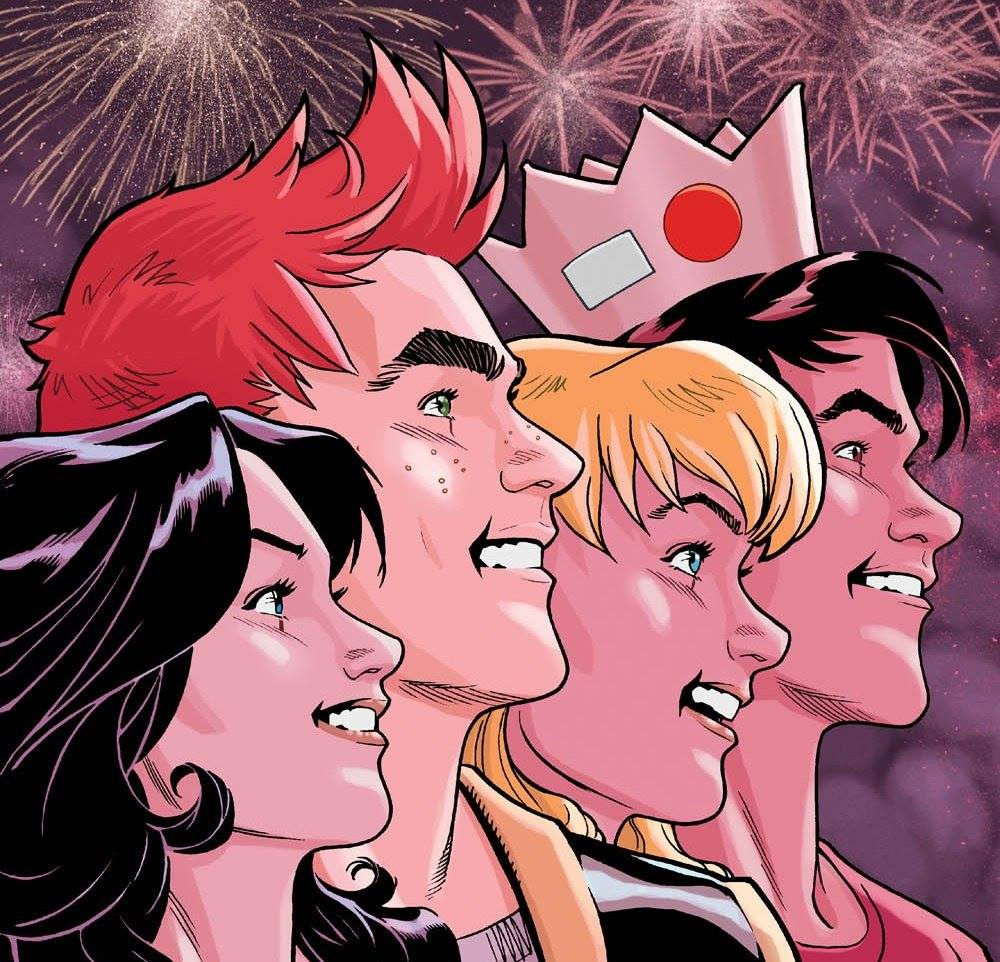 Happy July 4th!!! The #Riverdale gang celebrating in America's favorite small town!!