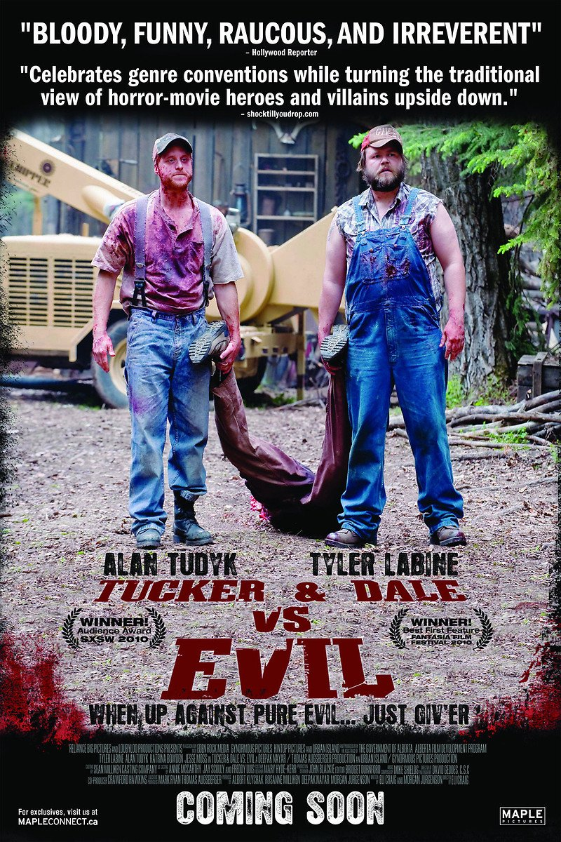 Graham Andre On Twitter Welcome To Day 5 Of Horrorjulywithgrayandhywel Today S Theme What Horror Movies Make You Laugh Either Intentionally Like My Fav Tucker And Dale Vs Evil Or So Bad It S