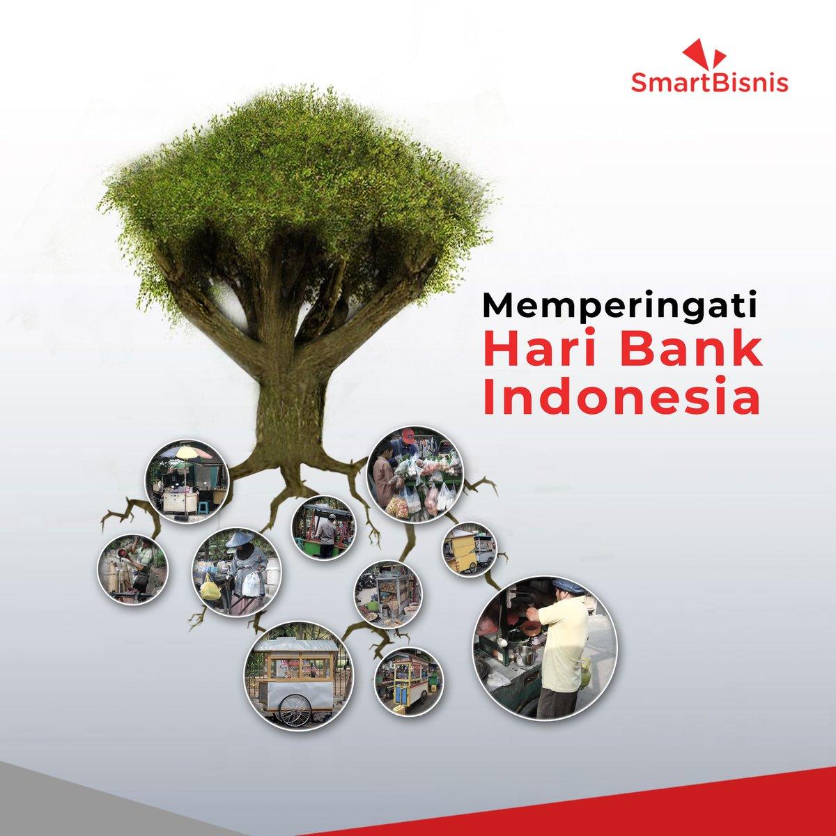 Tujuan utama Bank Indonesia adalah menjaga kestabilan nilai rupiah dan terus tumbuh bersama pelaku UMKM Indonesia, selayaknya pohon yang merindang dan kokoh karena akar-akar yang kuat. Selamat #HariBankIndonesia.