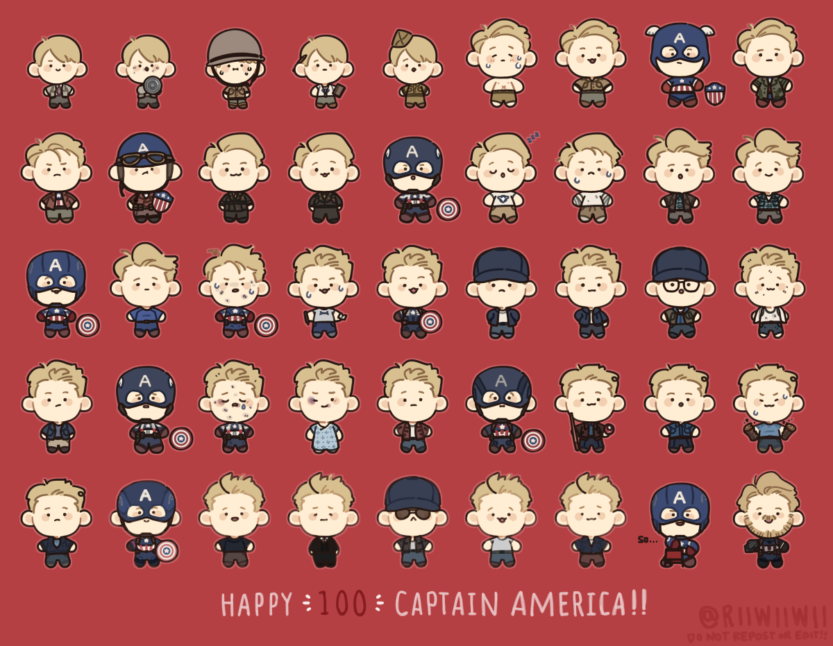 RT @riiwiiwii: star spangled man with a plan!  🌟🌟🌟 #HappyBirthdaySteveRogers #HappyBirthdayCaptainAmerica https://t.co/F91vQFDyu7