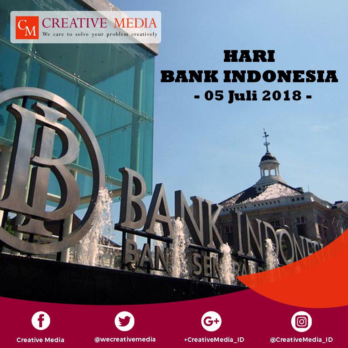 Selamat hari Bank Indonesia 2018  #haribankindonesia #bankindonesia #05juli2018