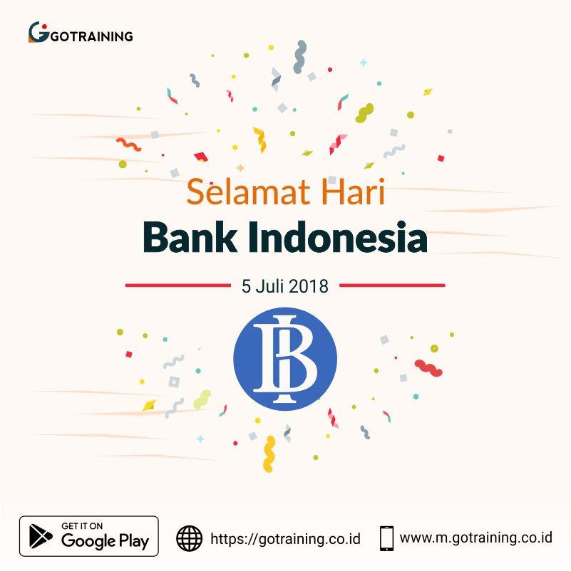 5 Juli merupakan tanggal yang bersejarah bagi perkembangan bank di Indonesia sebab pada tanggal 5 Juli 1946, berdiri Bank Negara Indonesia yang merupakan bank pertama milik negara   #haribankindonesia #haribanknasional #ayonabung @bank_indonesia