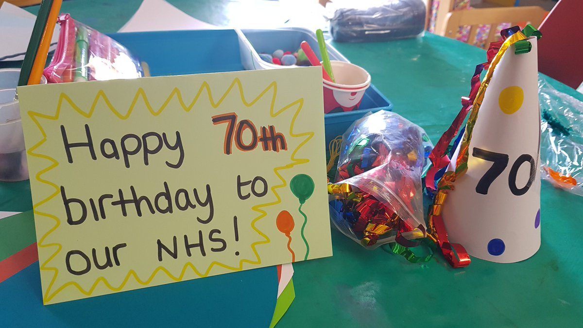 Happy 70th Birthday NHSEngland NGHnhstrust