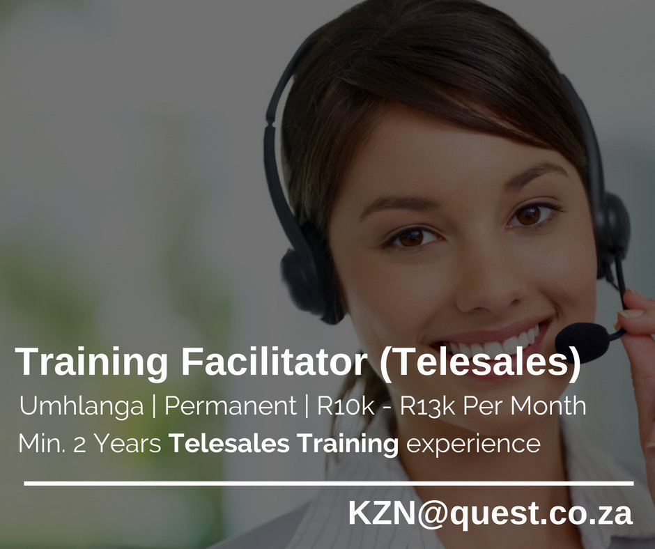 telesales training hashtag on twitter