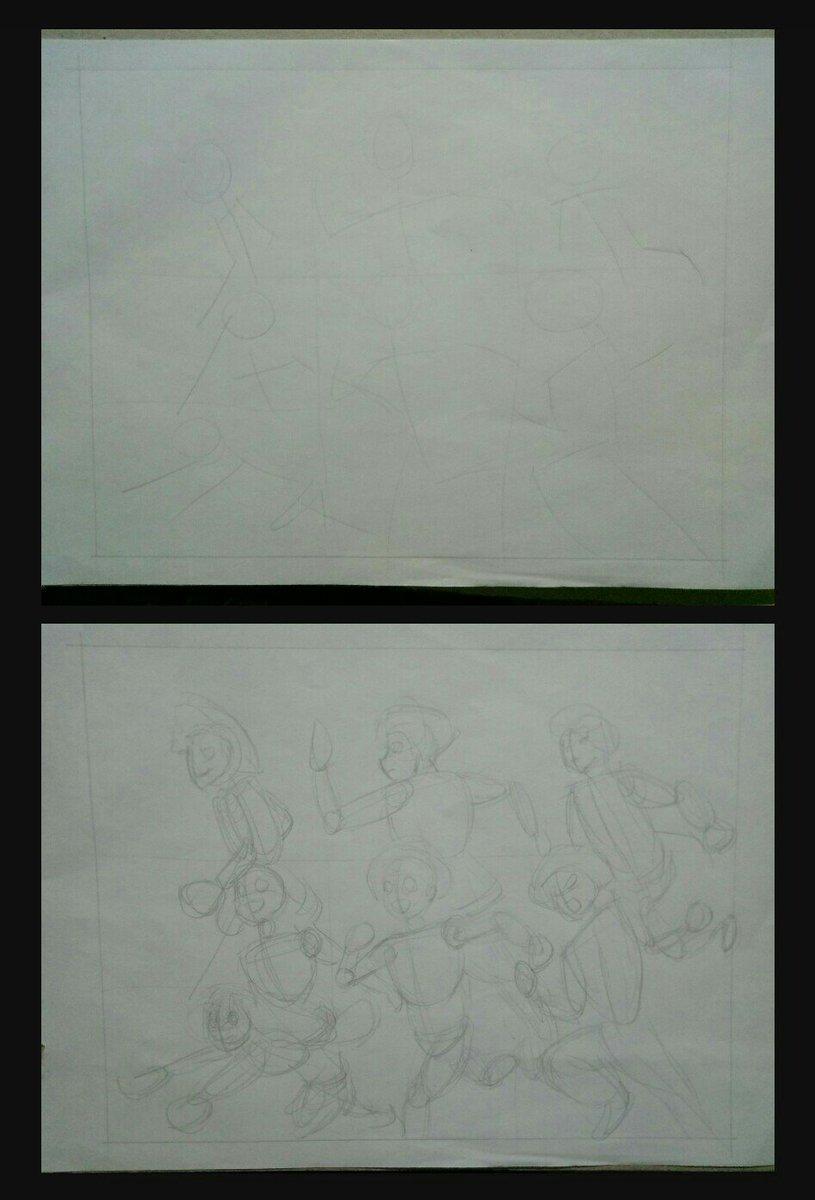 Kido على تويتر Steps In Drawing Group Boku No Hero