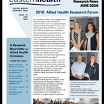 Check out this month's @easternhealthau #alliedhealth research news - 3 minute presentation success, DAA conference highlights and more https://t.co/YROVAETMNA