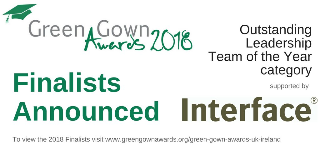 Green Gown Awards on Twitter: \