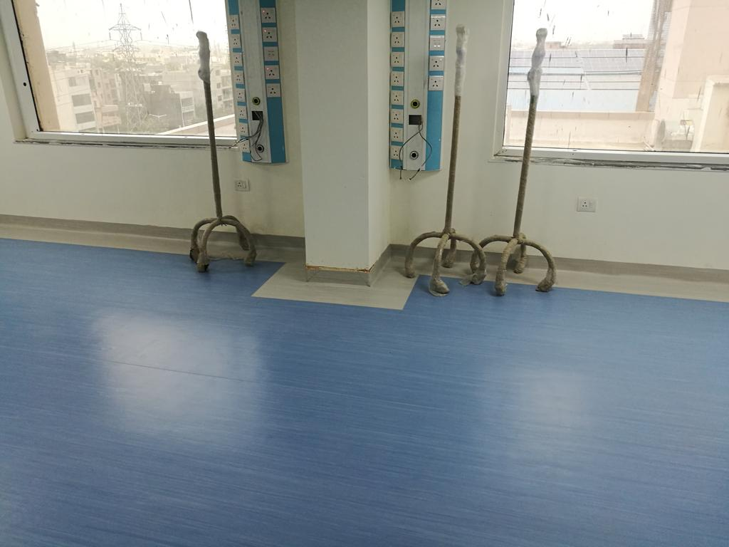 Wonderfloor Anti Bacterial Resilient Pvc Floorings Are Ideal For Maintaining Hygiene In Lication Like Healthcare