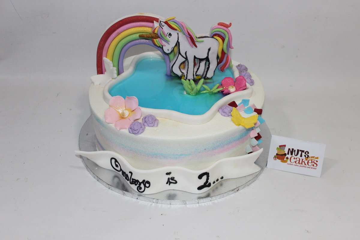 Birthday Unicorn Cake All Ready For Omolayos 2nd We Love A Good