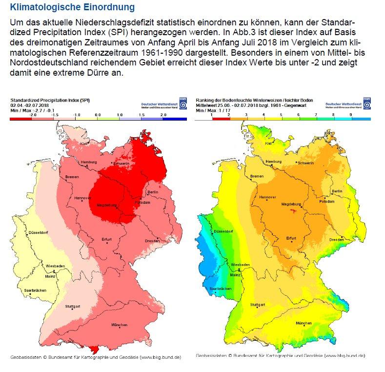 Trockenheit In Deutschland