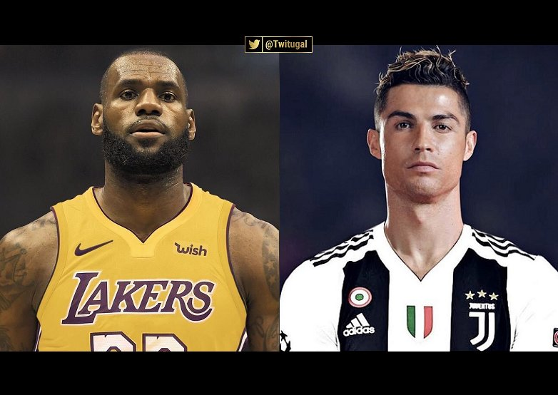 ⚽Name: Cristiano Ronaldo, 33 Yo Prize List: Won Everything with 2 Teams Mission for the next 4 Years: Win the UCL for a 3rd Team: Juventus  🏀Name: LeBron James, 33 Yo Prize List: Won Everything with 2 Teams Mission for the next 4 Years: Win the NBA Title for a 3rd Team: Lakers
