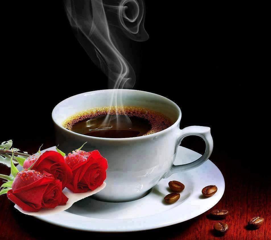 Открытки, открытки чашка кофе.с утра