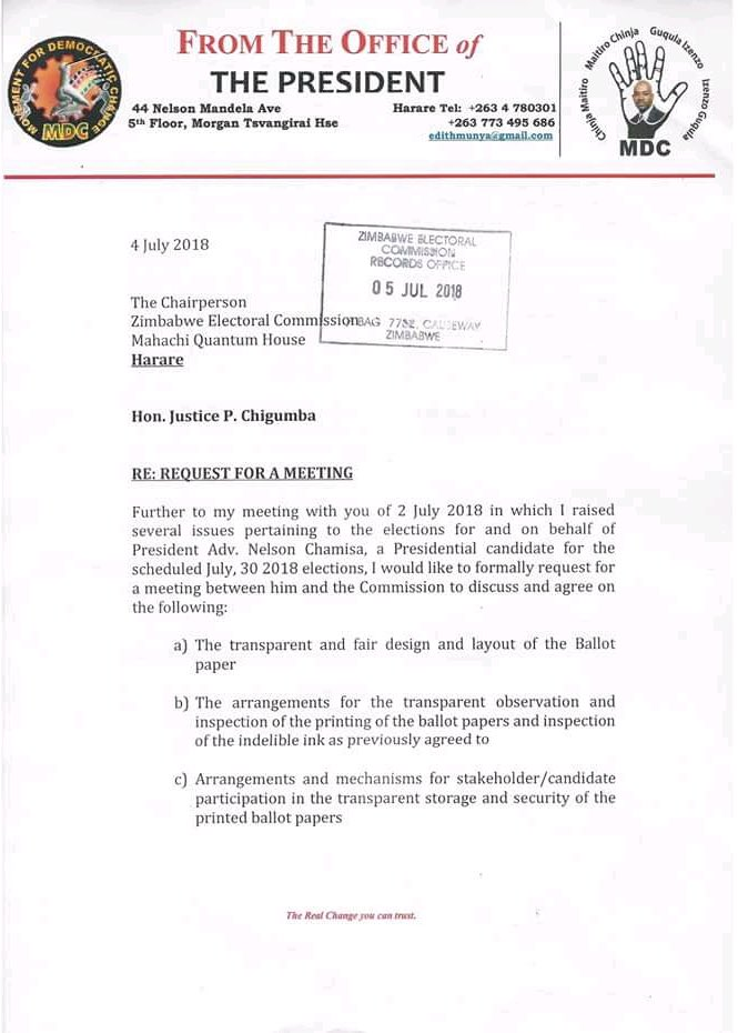 Bulawayo24 news on twitter letter from chamisa requesting urgent letter from chamisa requesting urgent meeting with zecpicitterbadvvxatus thecheapjerseys Images