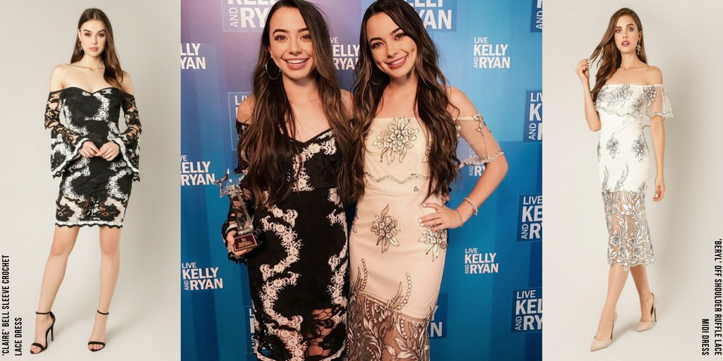 Wow Couture On Twitter The Merrell Twins At Veronicamerrell