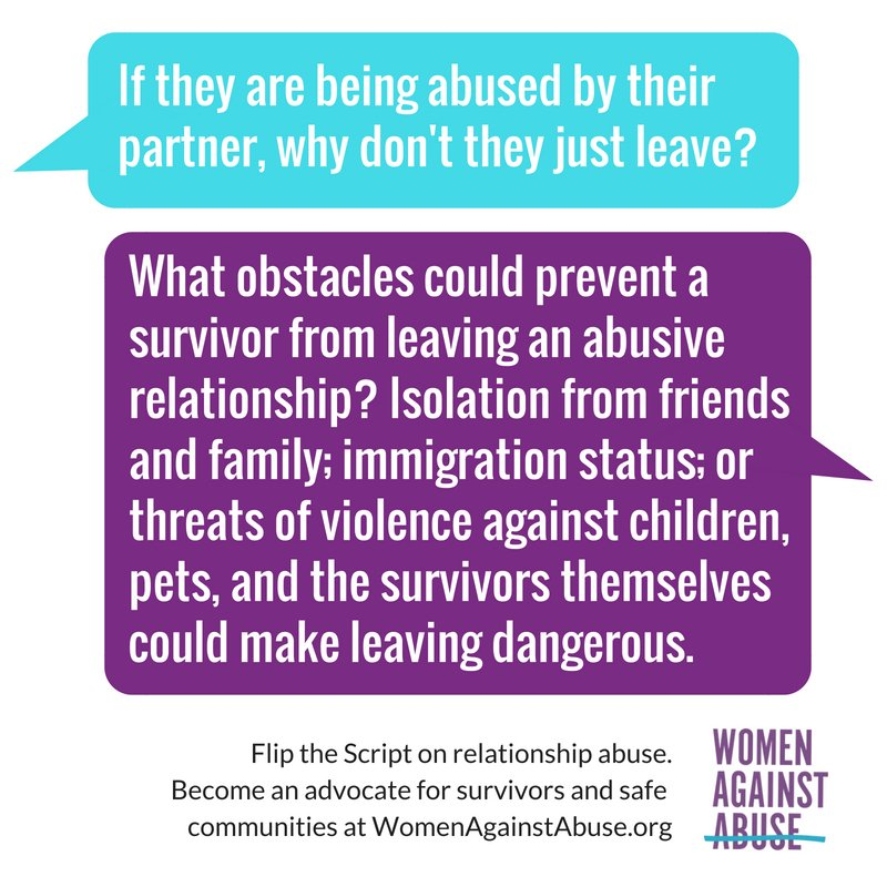 How to leave an abusive relationship safely