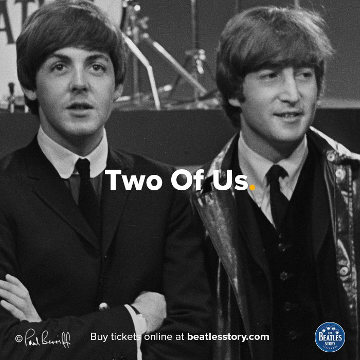 John Lennon and Paul McCartney met for the first time on this day in 1957. They both attended the Woolton Church Parish Fete where The Quarry Men were playing: bit.ly/25d6eOy