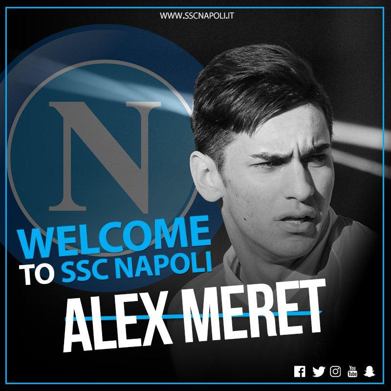 Maillot Extérieur Napoli ALEX MERET